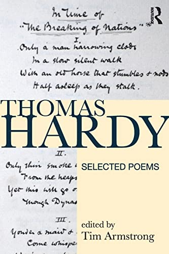 9781408204306: Thomas Hardy: Selected Poems