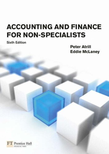9781408208045: Accounting and Finance for Non-Specialists: Plus MyAccountingLab XL Student Access Card
