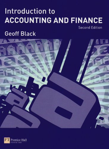 9781408216293: Introduction to Accounting & Finance Pk