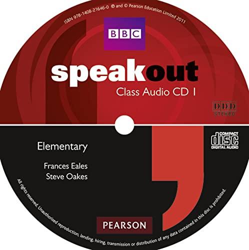 9781408216460: Speakout Elementary Class CD (x2)