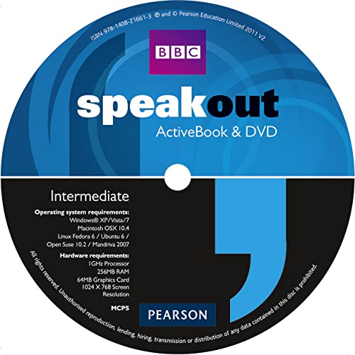 Speakout Intermediate DVD/Active Book Multi-Rom for Pack: Antonia Clare, J.