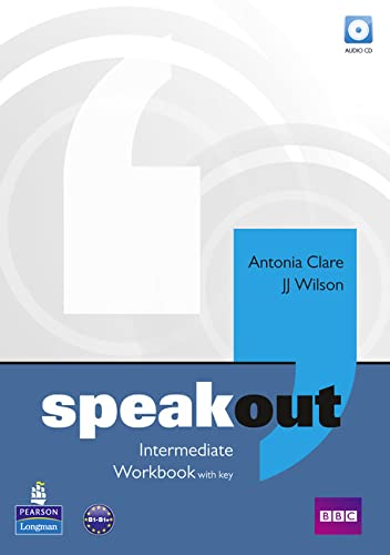 9781408216668: speakout Intermediate Workbook with Key for pack