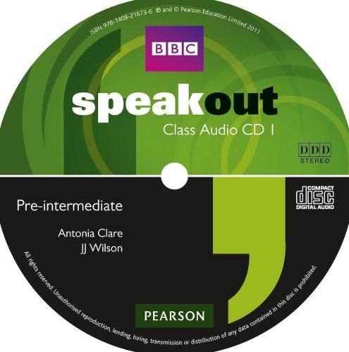 9781408216736: Speakout Pre-Intermediate Class CD (x3)