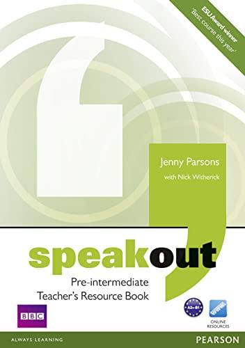 Speakout Pre-Intermediate Teacher's Book: Parsons, Jenny