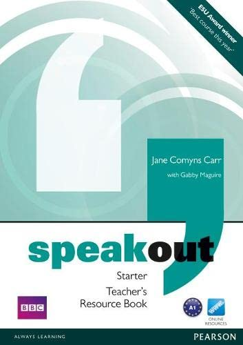 9781408216903: Speakout Starter Teacher's Book