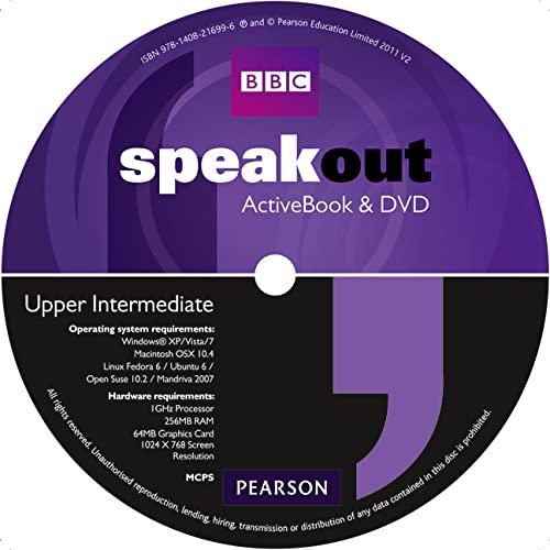 Speakout Upper Intermediate DVD/Active book Multi-Rom for: Frances Eales, Steve