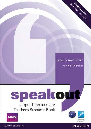 9781408217054: Speakout Upper Intermediate Teacher's Book