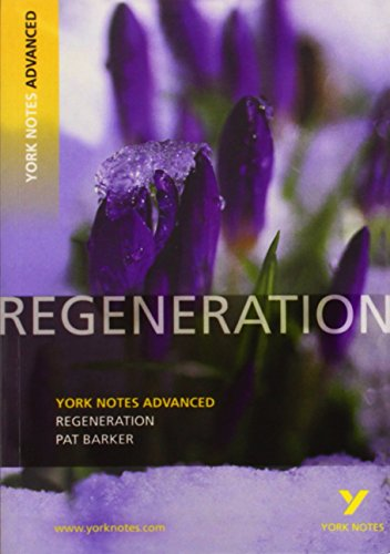 9781408217252: Regeneration: York Notes Advanced