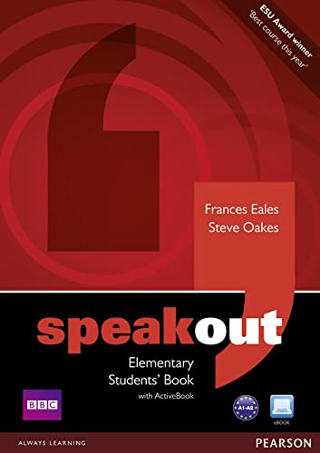 9781408219300: Speakout Elementary Students book and DVD/Active Book Multi Rom pack