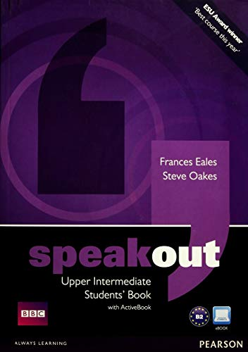 9781408219331: Speakout Upper Intermediate Students Book and DVD/Active Book Multi-ROM