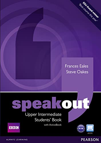 9781408219331: Speakout Upper Intermediate Students book and DVD/Active Book Multi Rom Pack
