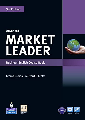 9781408219577: Market Leader 3rd edition Advanced Course Book for pack