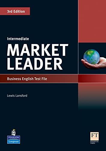 9781408219812: Market Leader 3rd Edition Intermediate Test File