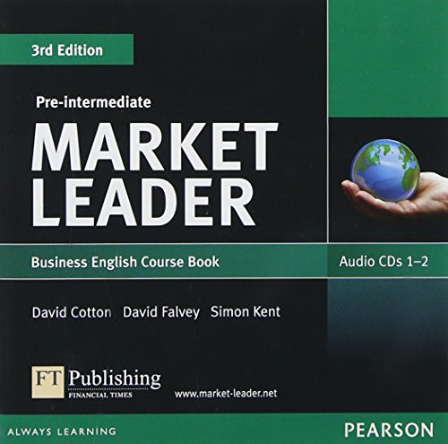 9781408219836: ML 3rd ed Pre-Int Audio CDs (Market Leader)