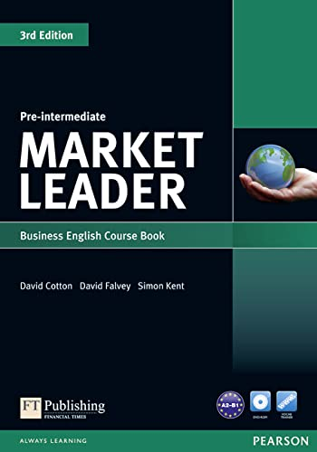 Market Leader: Pre-intermediate Course Book for Pack (1408219840) by Cotton, David; Falvey, David; Kent, Simon