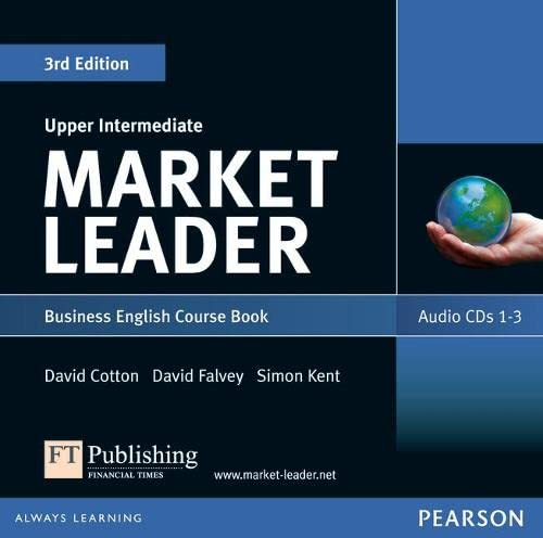 9781408219928: Market Leader 3rd edition Upper Intermediate Audio CD (2)