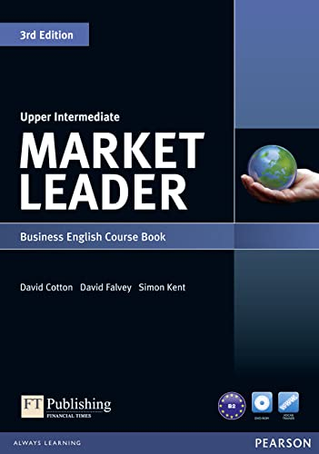 9781408219935: Market Leader 3rd edition Upper Intermediate Course Book for pack