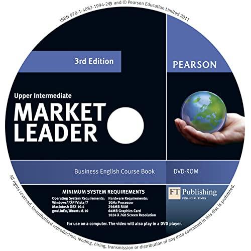 9781408219942: Market Leader 3rd edition Upper Intermediate DVD-Rom for pack