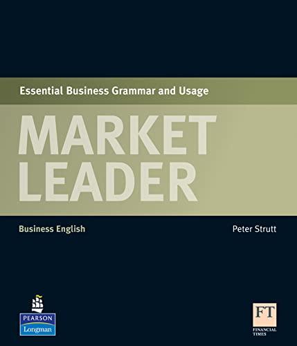 9781408220016: Market Leader Essential Grammar & Usage Book