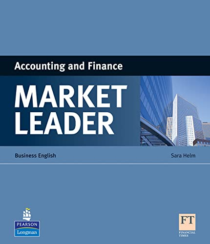 9781408220023: Market Leader ESP Book - Accounting and Finance