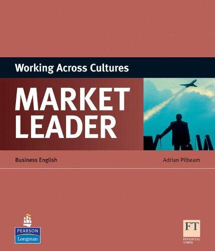 9781408220030: Market Leader ESP Book - Working Across Cultures [Lingua inglese]: Business English