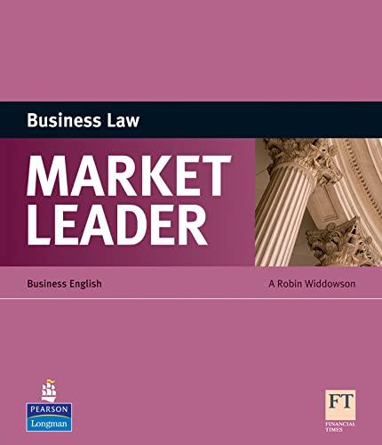 9781408220054: Market Leader ESP Book - Business Law
