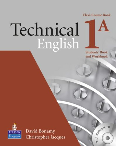 9781408222508: TECHNICAL ENGLISH 1A BOOK C/CD