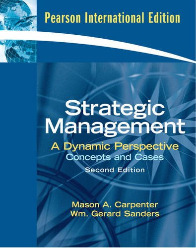 9781408222850: Strategic Management: AND MyStratLab with E-Book Student Access Code Card: Concepts and Cases with MyStratLab with E-book Student Access Code Card