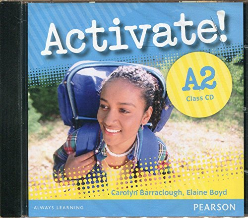9781408224182: Activate! A2 Class CD