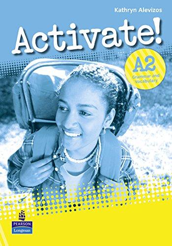 9781408224212: Activate! A2 Grammar Vocabulary Book