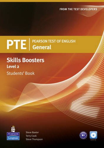 9781408225899: Pearson Test of English General Skills Booster 2 Students book for Pack