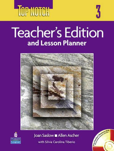 9781408229163: Top Notch Level 3 Teacher's Edition and Lesson Planner