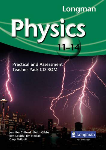 Longman Physics 11-14: Practical and Assessment Teacher Pack CD-ROM: Penny Johnson, Miles Hudson