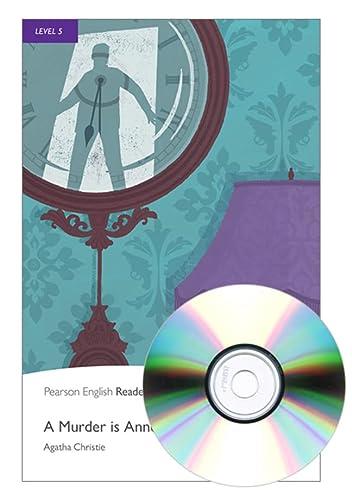 9781408232125: L5: Murder is Announced Bk & MP3 Pk (Pearson English Readers, Level 5)