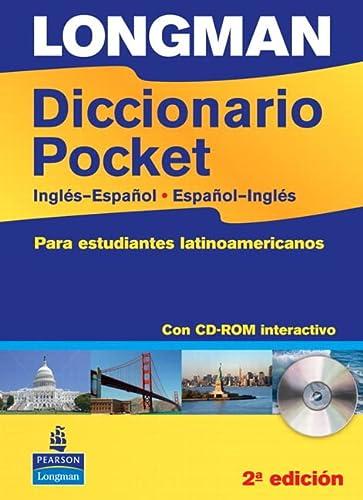 9781408232347: Longman Diccionario Pocket, Ingles-Espanol, Espanol-Ingles: Para Estudiantes Latinamericanos (Paper with CD-ROM) (Latin American Dictionary)