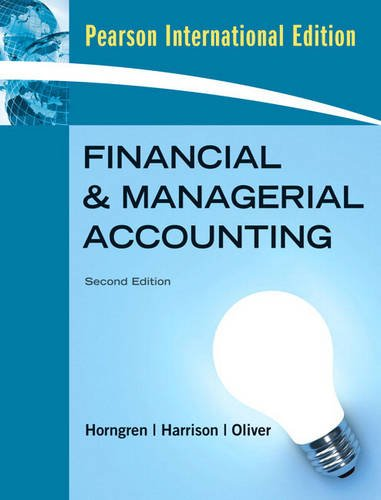 9781408232552: Financial and Managerial Accounting, Chapters 1-23, & MyAccountingLab with Full EBook Student Access Card