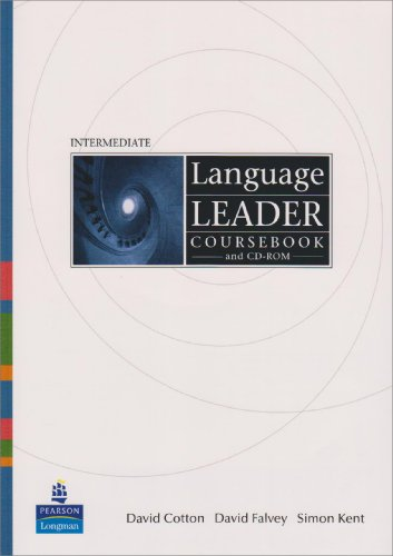 9781408234556: Language Leader Intermediate Coursebook/and CD-Rom and LMS and Access Card Pack