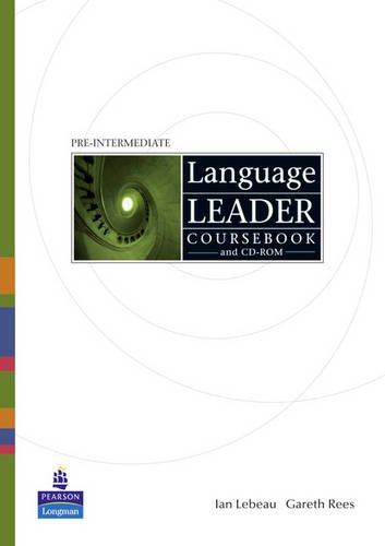 9781408234563: Language Leader Pre-Intermediate Coursebook and CD-Rom and LMS and Access Card Pak