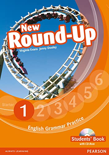 9781408234907: Round Up Level 1 Students' Book/CD-Rom Pack (Round Up Grammar Practice)