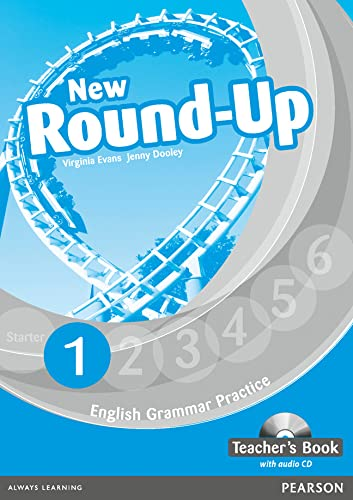 9781408234914: Round Up 1. Teacher Guide (+ CD) (Round Up Grammar Practice)