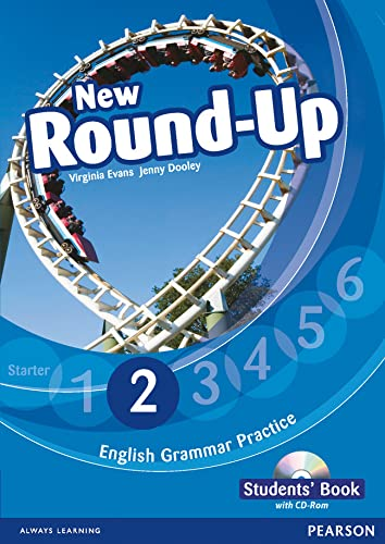 9781408234921: Round Up Level 2 Students' Book/CD-Rom Pack (Round Up Grammar Practice)