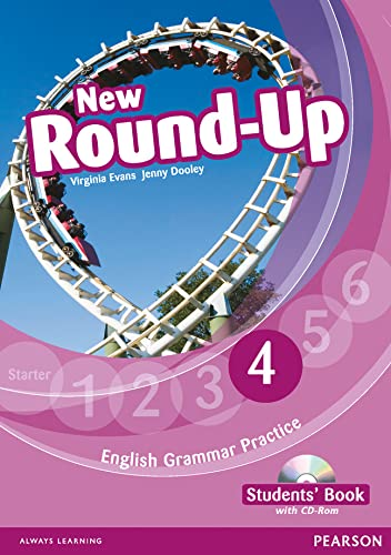 9781408234976: Round Up Level 4 Students' Book/CD-Rom Pack (Round Up Grammar Practice)