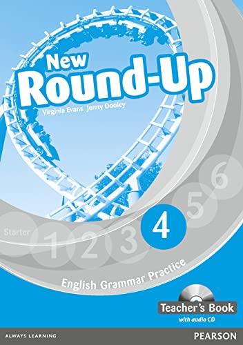 9781408234983: Round Up Level 4 Teacher's Book/Audio CD Pack (Round Up Grammar Practice)