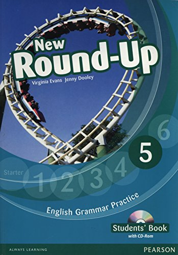 Round Up Level 5 Students' Book/CD-Rom Pack: Evans, V; Dooley,