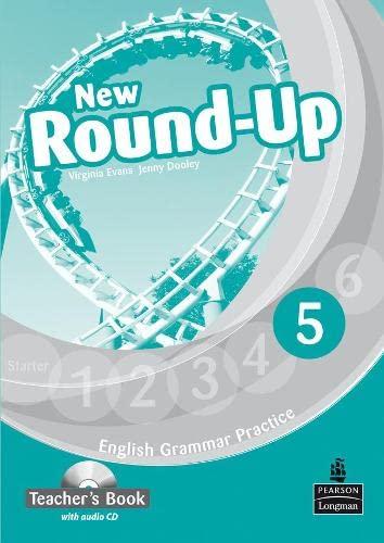 9781408235003: Round Up Level 5 Teacher's Book with Audio CD Pack (Round Up Grammar Practice)