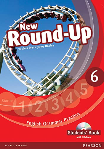9781408235010: Round Up Level 6 Students' Book/CD-Rom Pack (Round Up Grammar Practice)