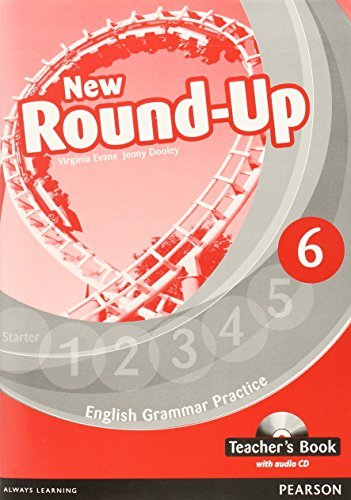 9781408235027: Round Up Level 6 Teacher's Book/Audio CD Pack (Round Up Grammar Practice)