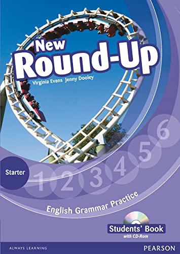 9781408235034: Round Up NE Starter Level Students' Book/CD-Rom Pack (Round Up Grammar Practice)