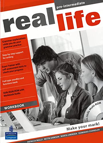 Real Life Global Pre-Intermediate Workbook and Multi-ROM: Reilly, Ms Patricia
