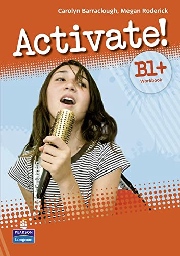 9781408236826: Activate! B1+ Workbook without Key/CD-Rom Pack
